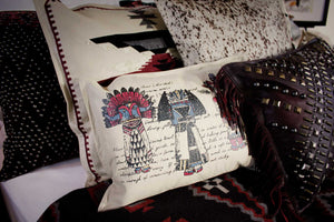 Pillow, Leather, Healing Drum