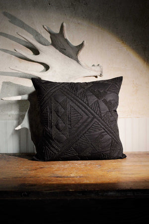 Pillow, Woven, Pottery Shards