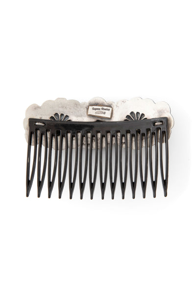 Miscellaneous, Sterling Silver, Repousse Hair Comb, 133
