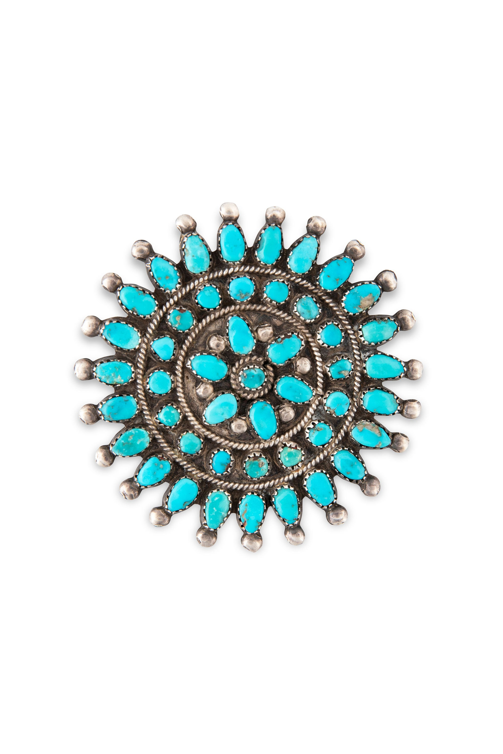 Pin, Cluster, Turquoise, Old Pawn, 257