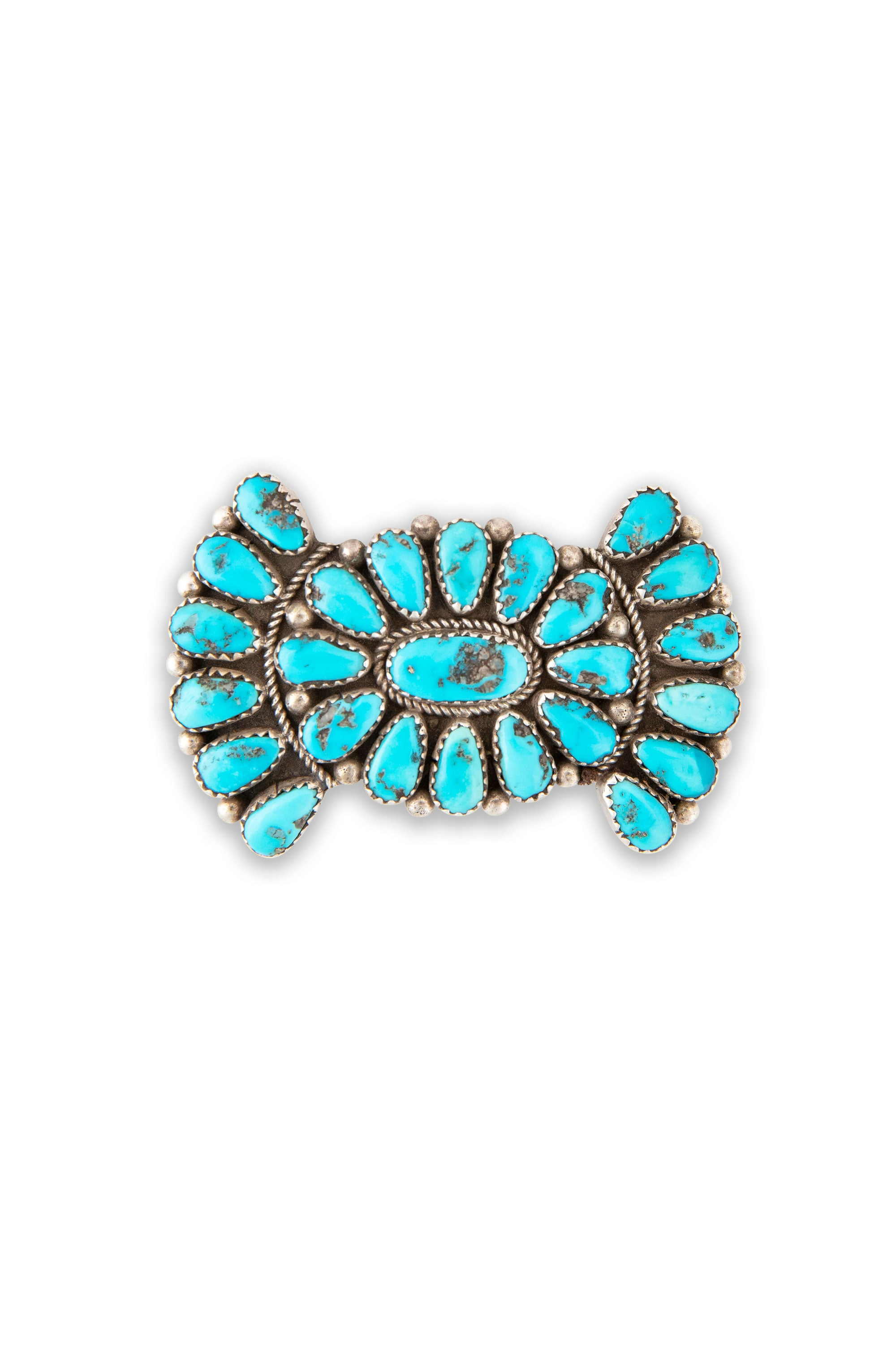 Pin, Cluster, Turquoise, Bowtie, Hallmark, Old Pawn, 290