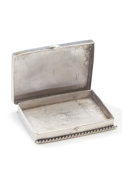 Miscellaneous Box, Sterling Silver & Mother of Pearl, Vintage, 154