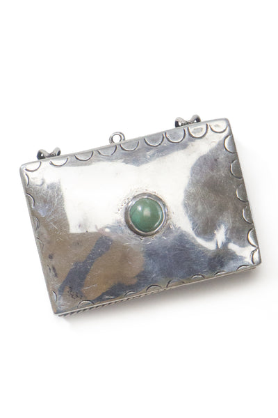 Miscellaneous Box, Sterling Silver & Mother of Pearl, Vintage, 155