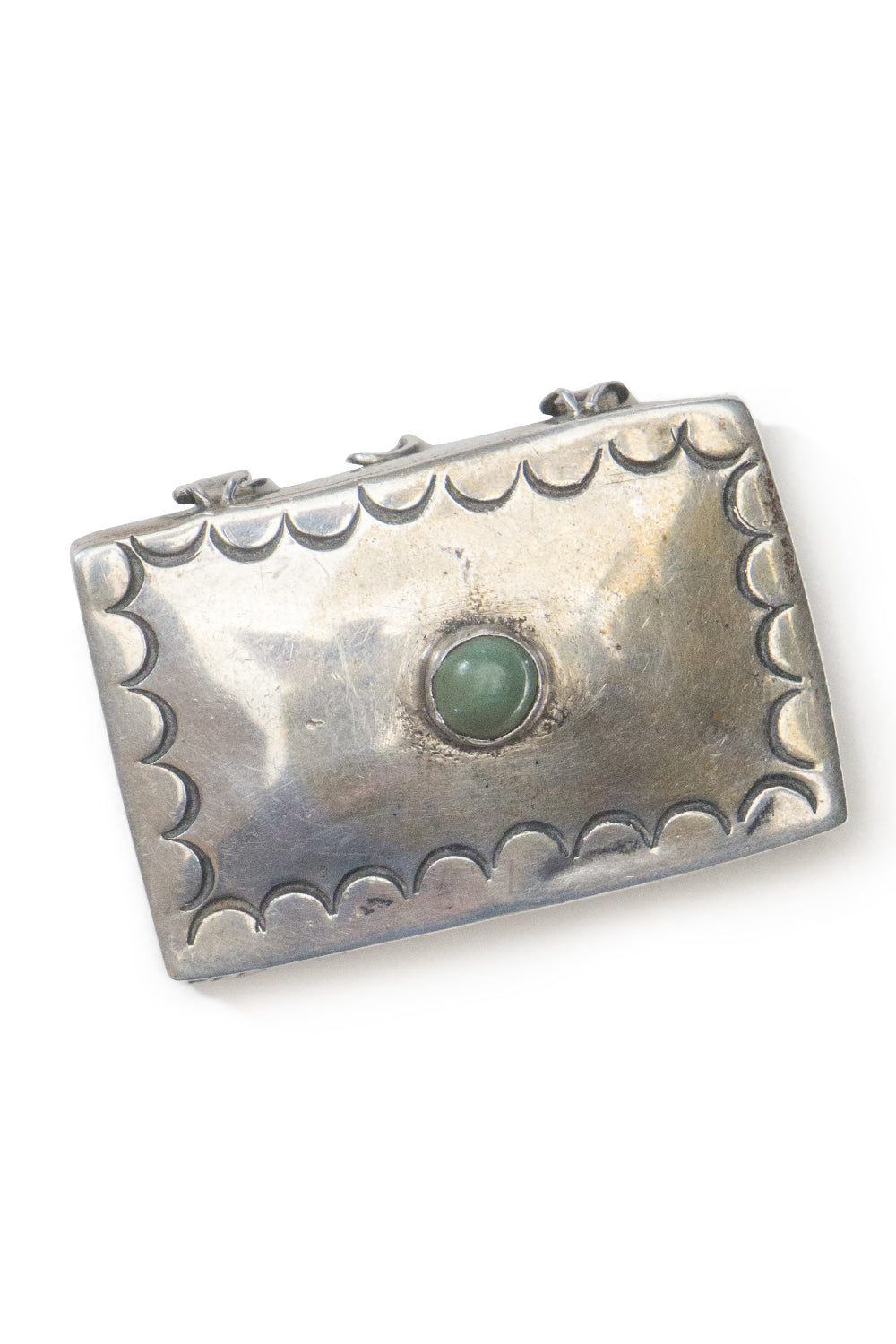 Miscellaneous Box, Sterling Silver & Mother of Pearl, Vintage, 156