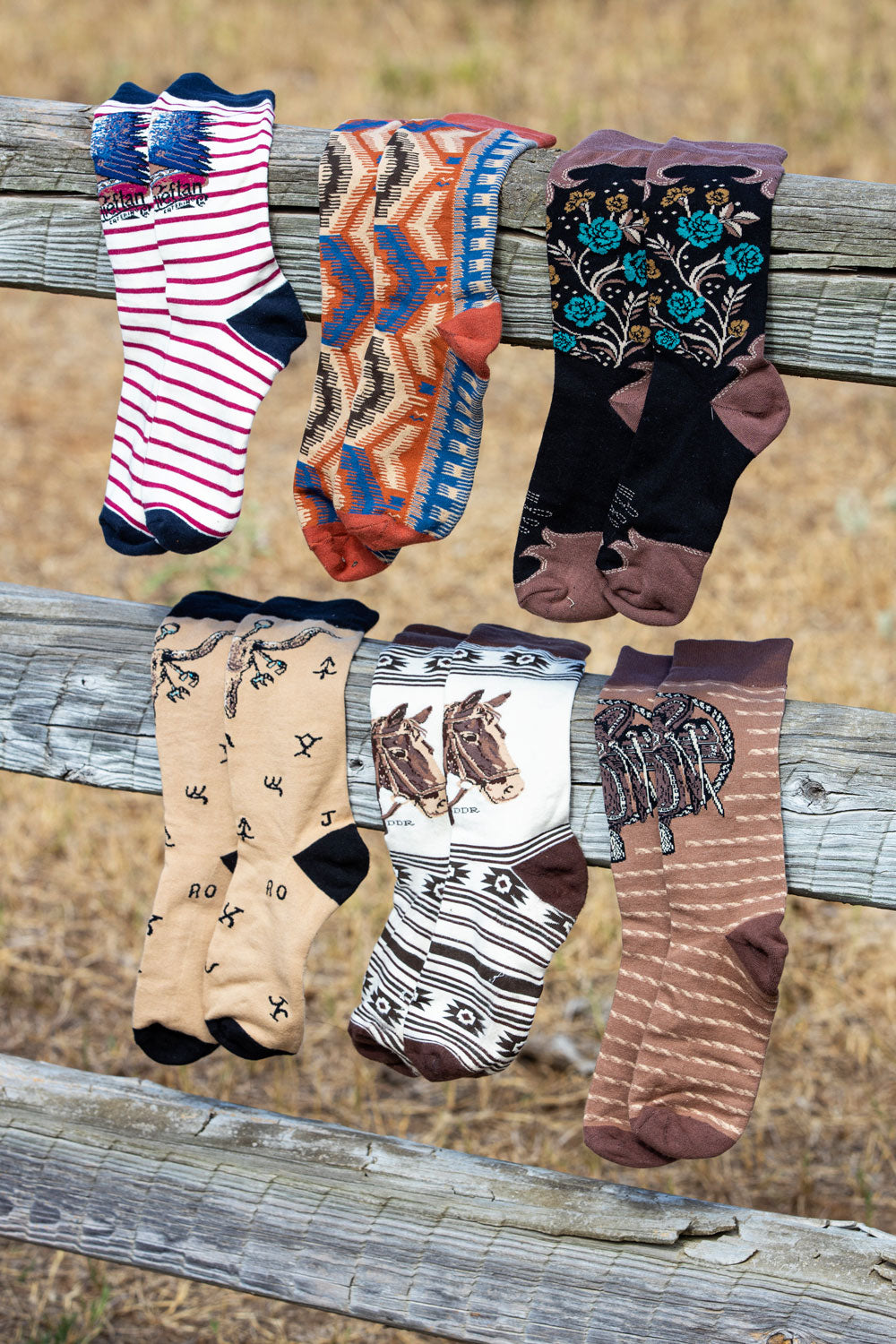 The Cattleman Sock Pack