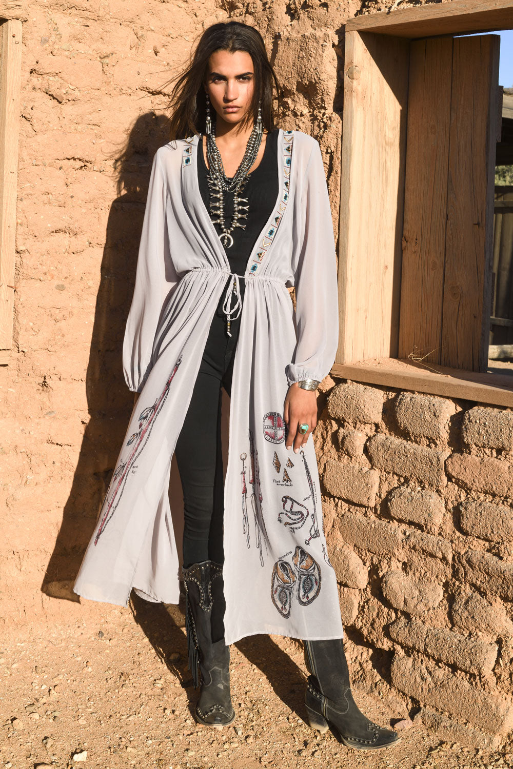 Ethnology Dress/Duster
