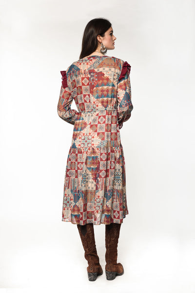 A Prairie Patch Dress