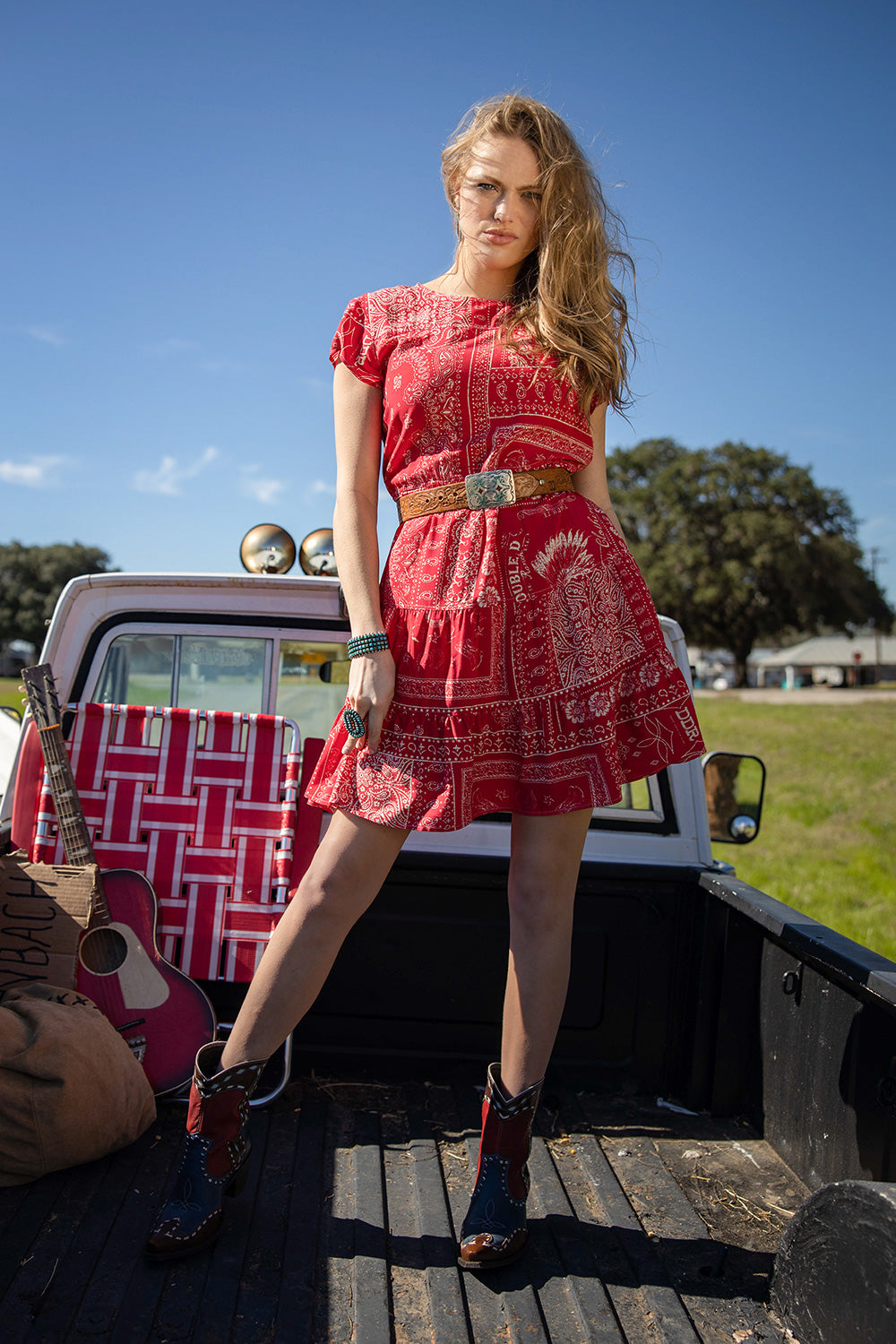 Picnic Bandana Dress