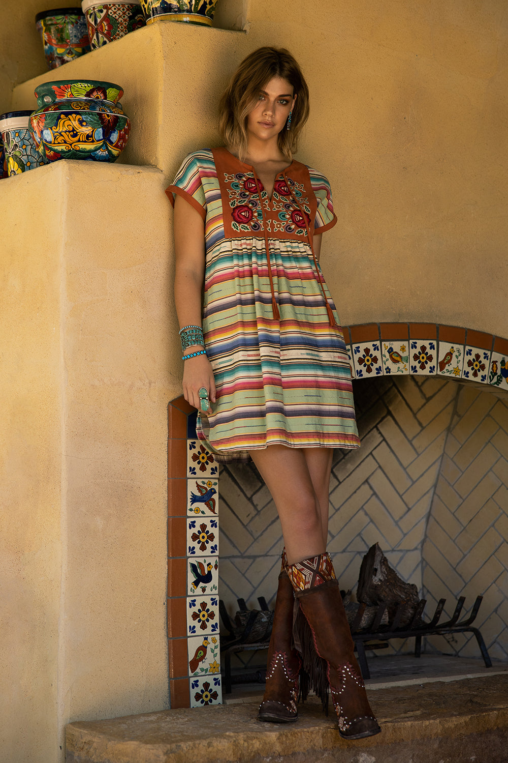 Matagorda Serape Dress