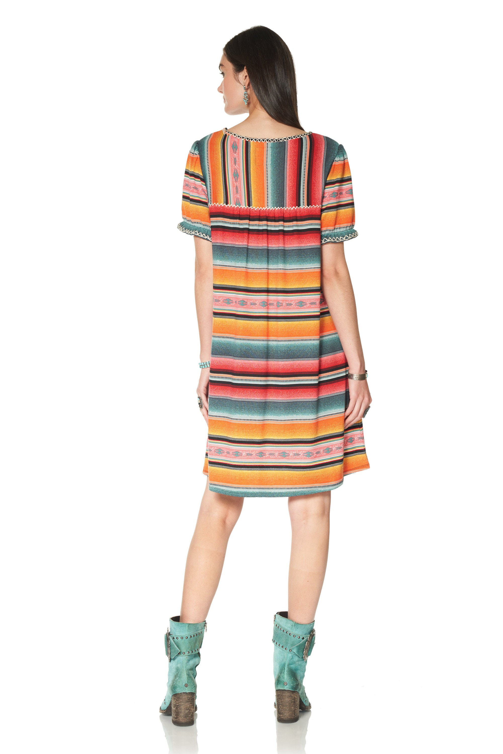 Cynthia's Serape Dress