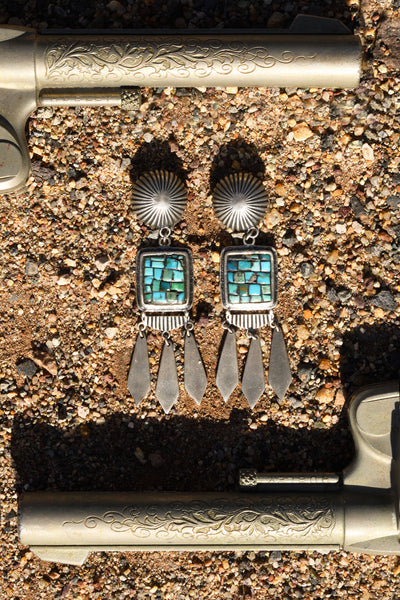Earrings, Mosaic, Adelita