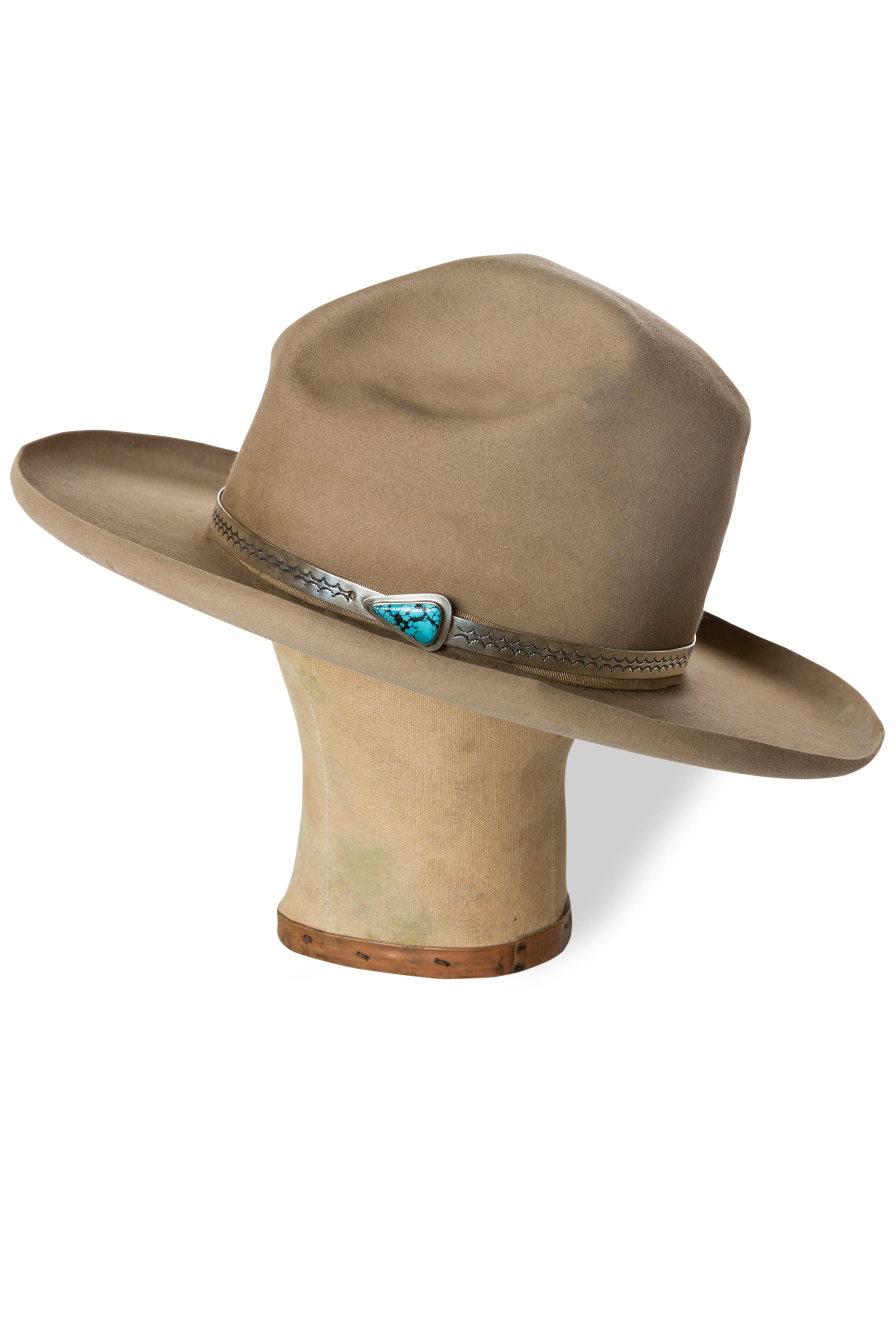 Hat Band, Navajo, Old Pawn, 121