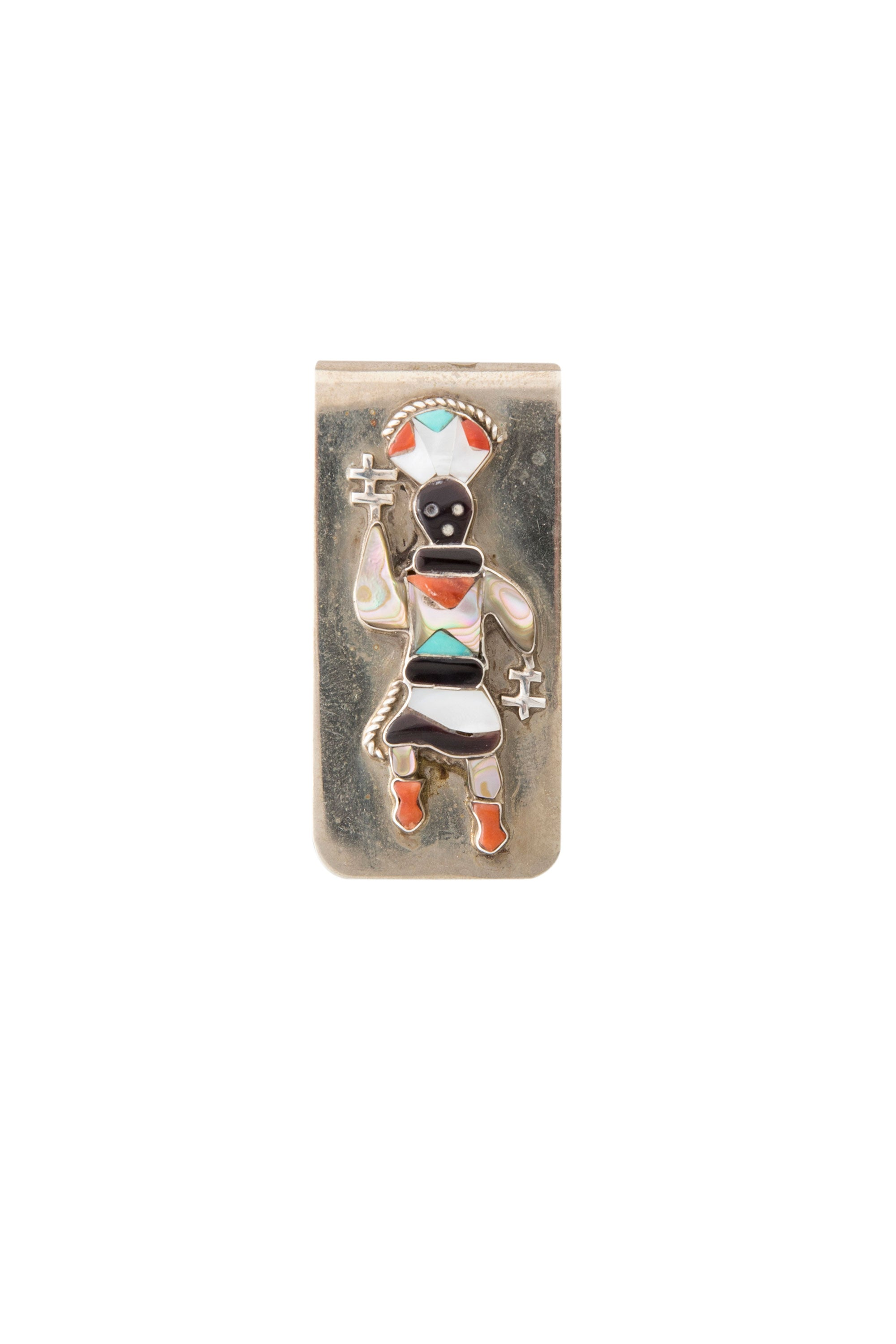 Money Clip, Mountain Spirit, Zuni, Vintage