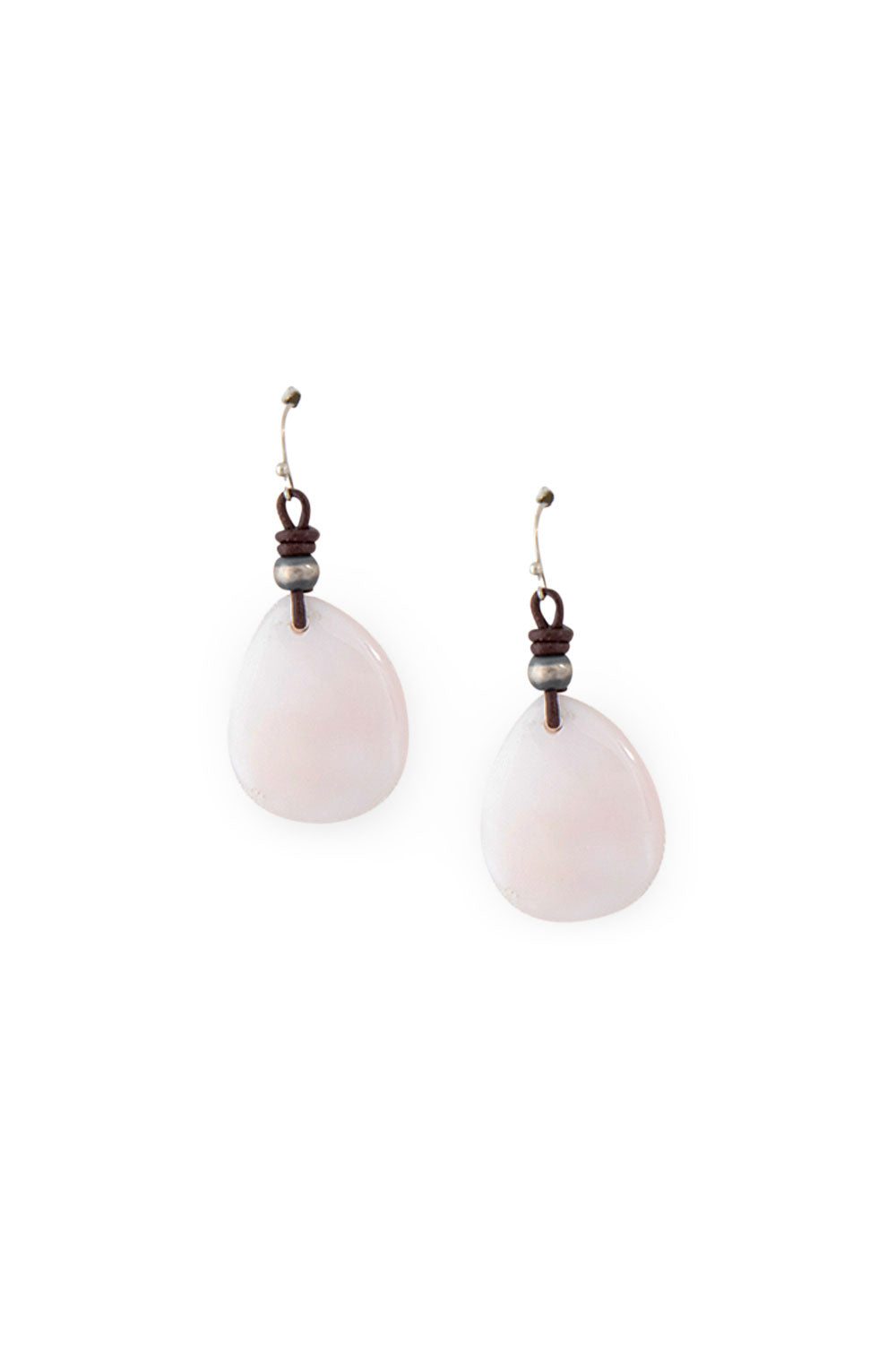 Earrings, Slab, Mother of Pearl, 437