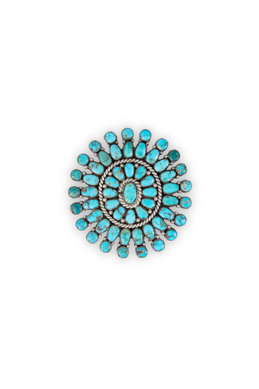 Pin, Cluster, Turquoise, Vintage, 330