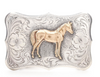 Belt, Buckle, Trophy, Horse, Vintage, 779