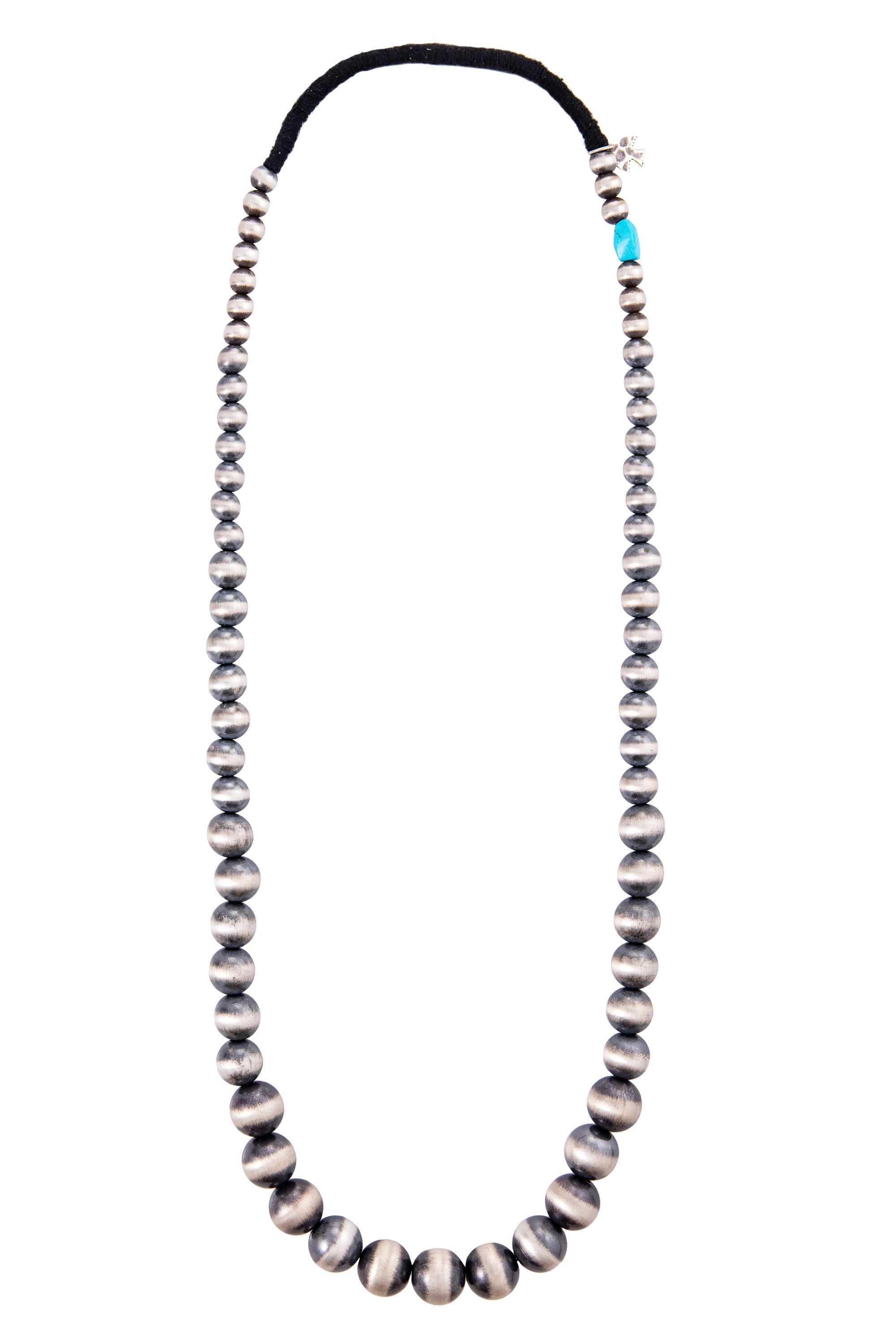 "Necklace, Bead, Desert Pearls, 26"", Pilar Lovato, 1133"