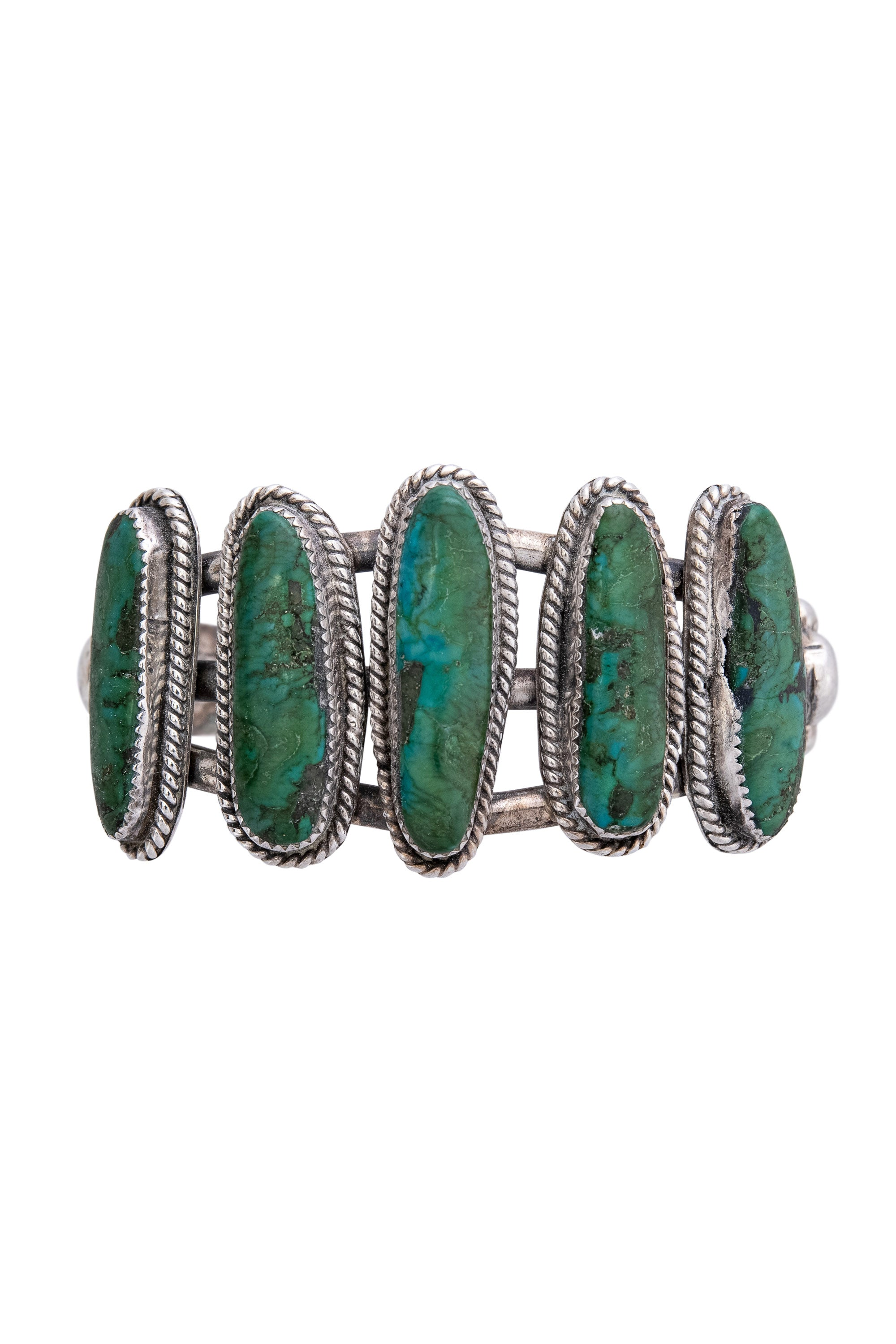 Cuff, Turquoise, 6 Stone, Vintage, 2715