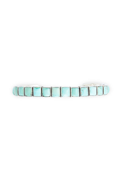 Cuff, Turquoise, Row, 20 Stone, Federico, Contemporary,649