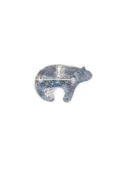 Pin, Novelty, Inlay, Spirit Bear, Vintage, 442