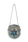 Miscellaneous, Beaded Bag with Sterling Silver Frame, Vintage, 169