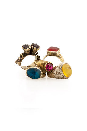 Ring, Novelty, Assorted Lot, Boho, Vintage, 602