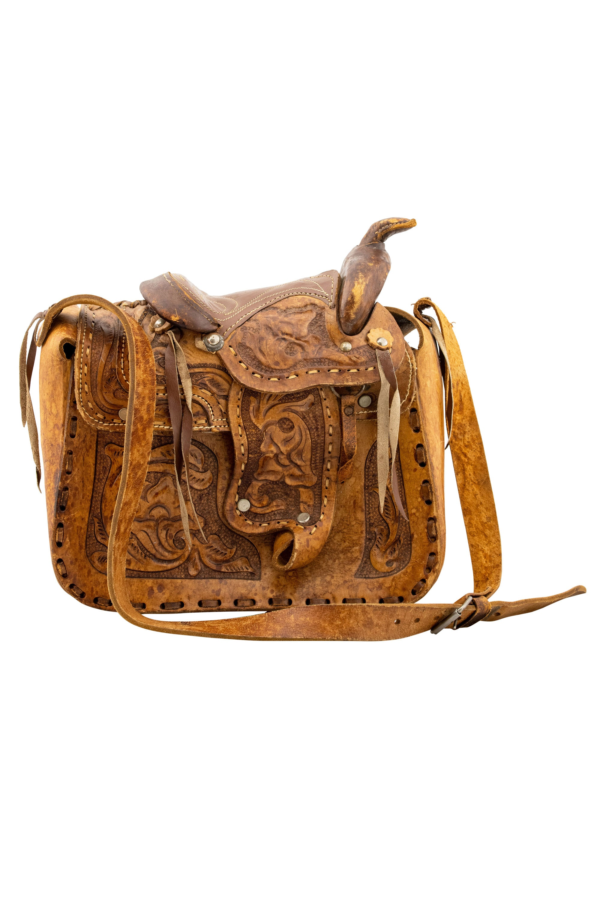 Miscellaneous, Bag, Western Saddle, Vintage '60s, 1005