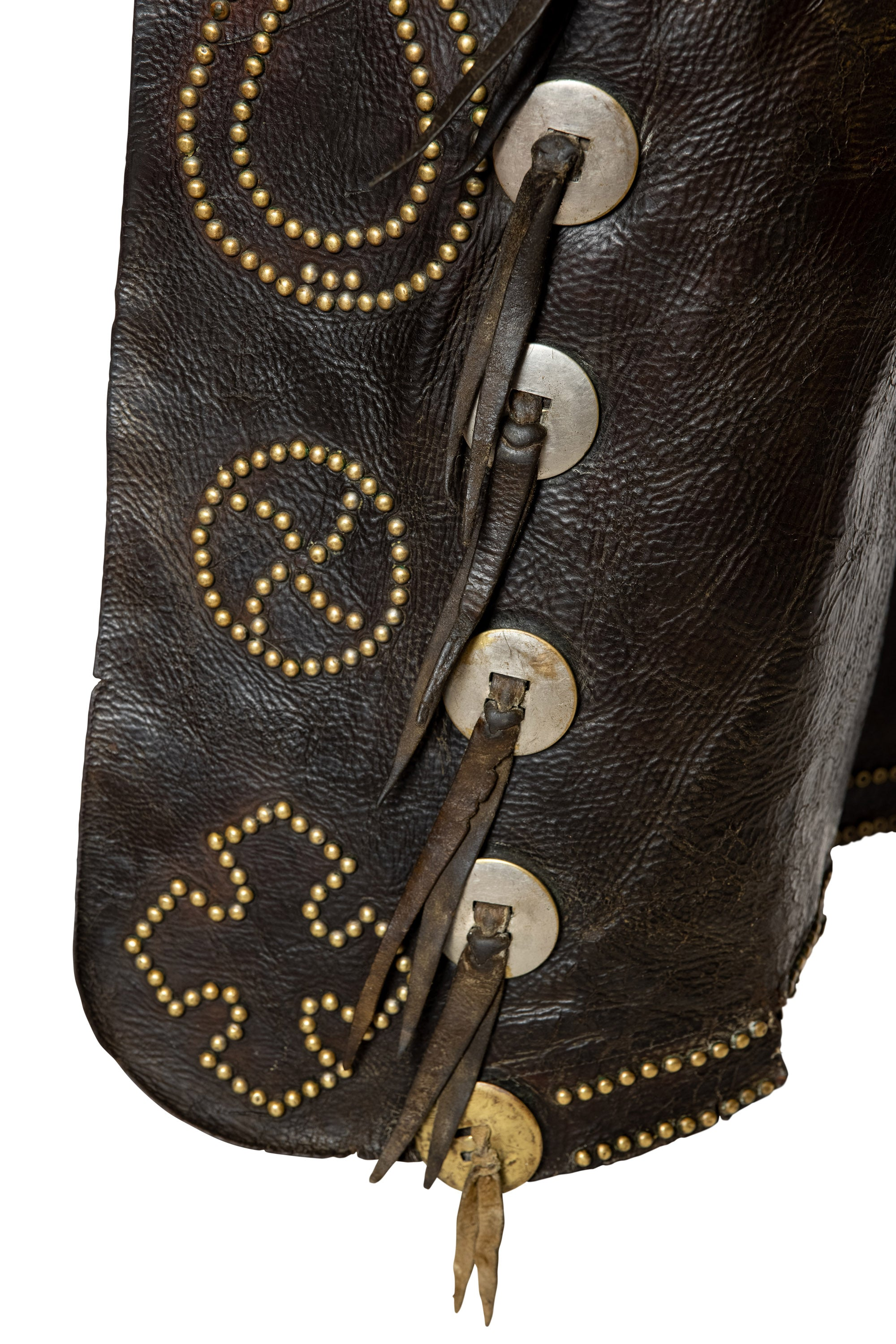 Miscellaneous, Chaps, George Lawrence Company, Portland, Or., Studded, Tooled Leather, Hallmark, Vintage, 221