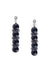 Earrings, Drop, Onyx, Hallmark, 678