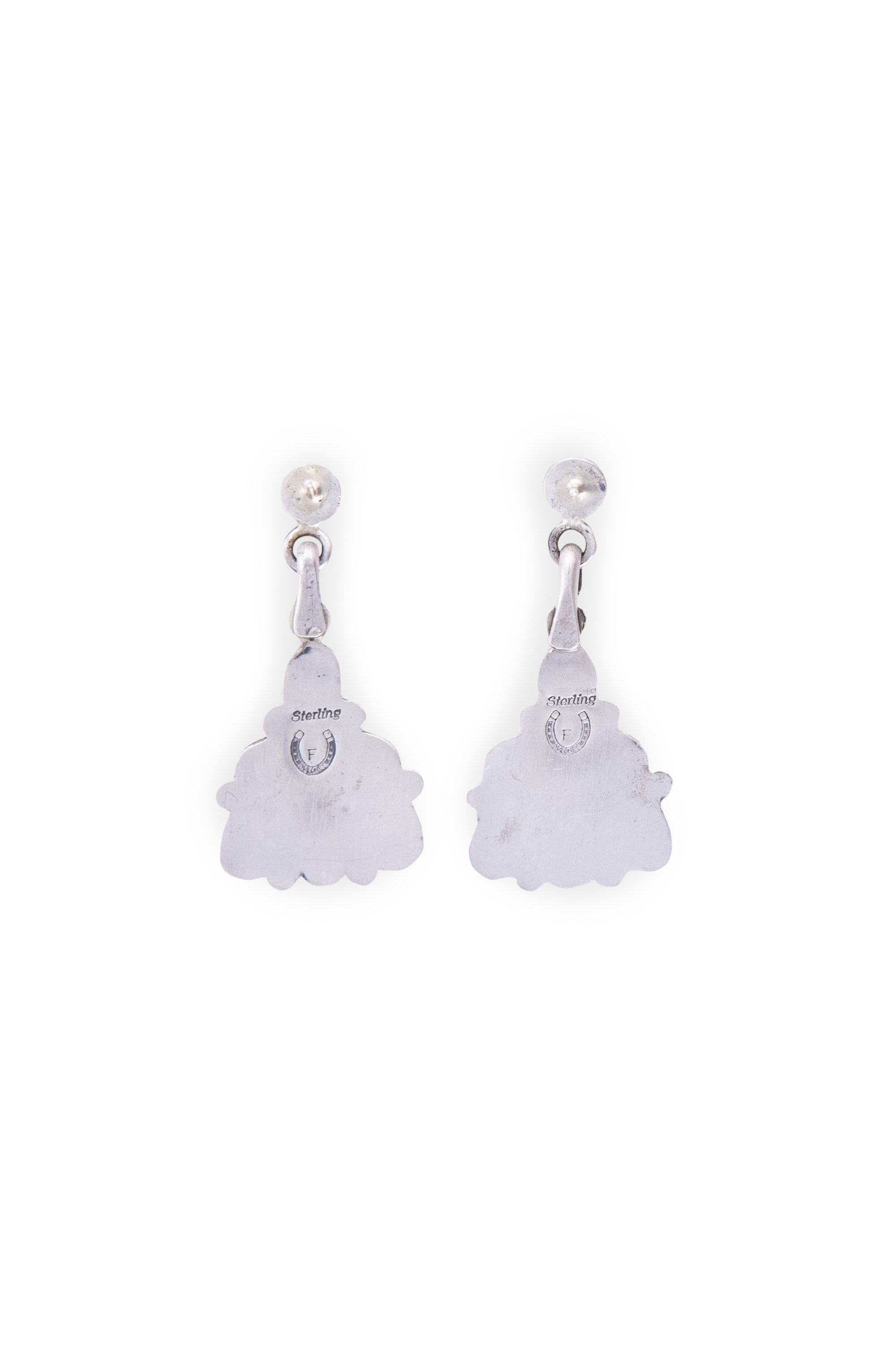 Earrings, Chandelier, Coral, Hallmark, 655