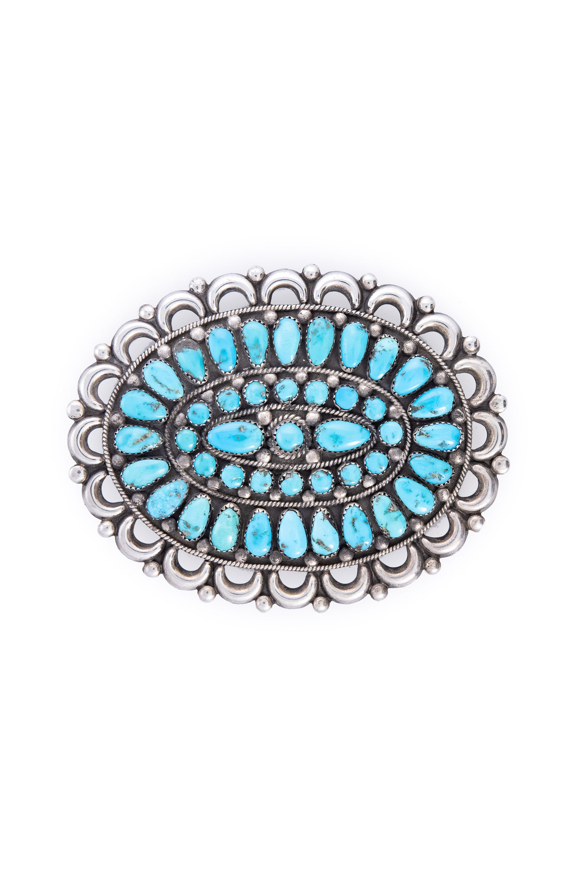 Pin, Cluster, Turquoise, 511