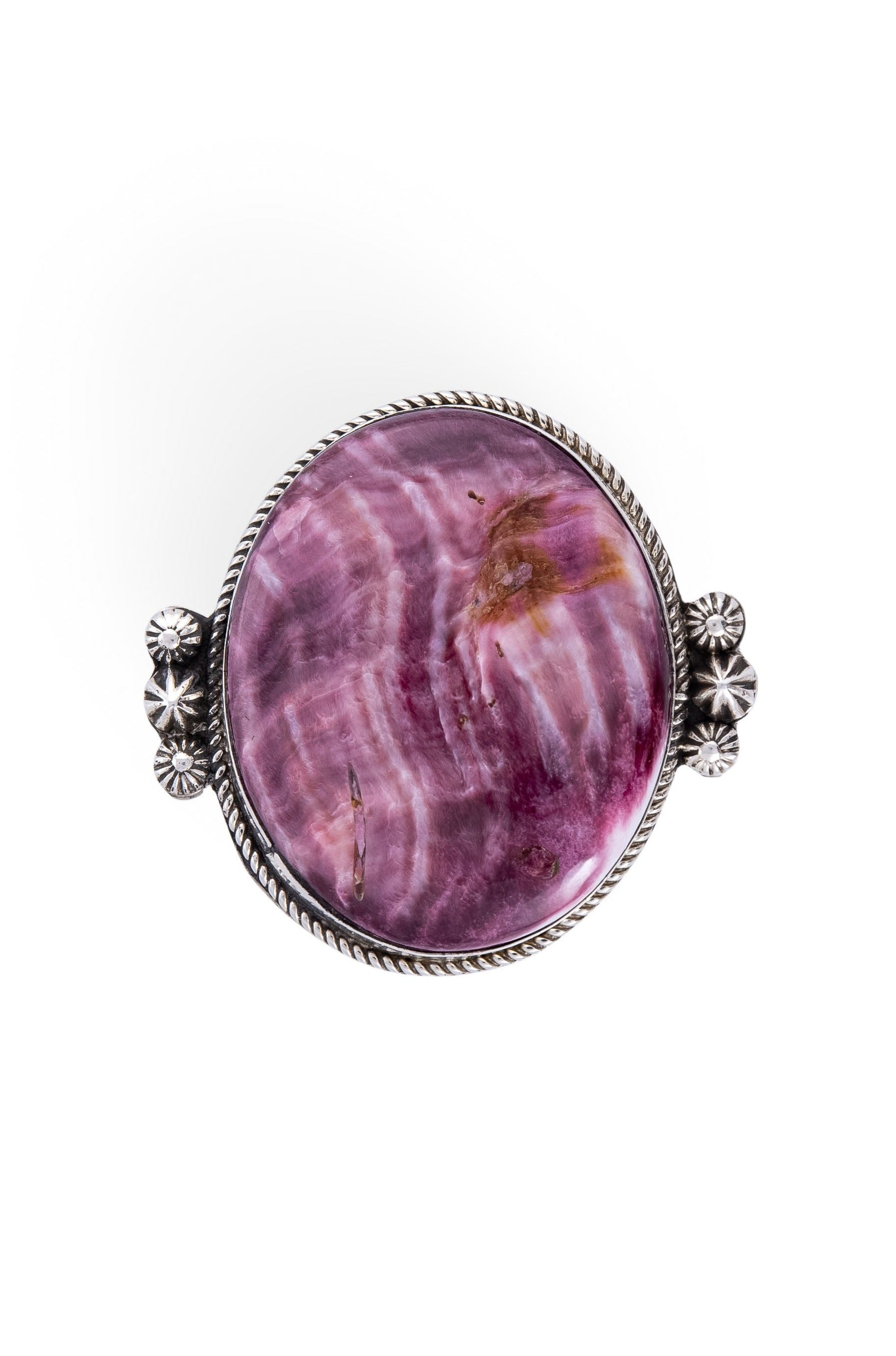 Ring, Purple Spiny Oyster, Single Stone, Hallmark, 667