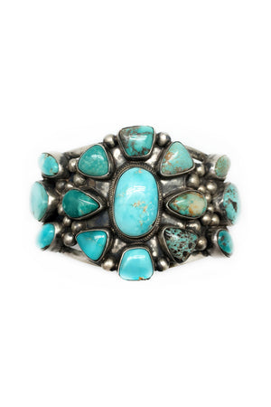 Cuff, Turquoise, Cluster, Carico Lake, Chavez