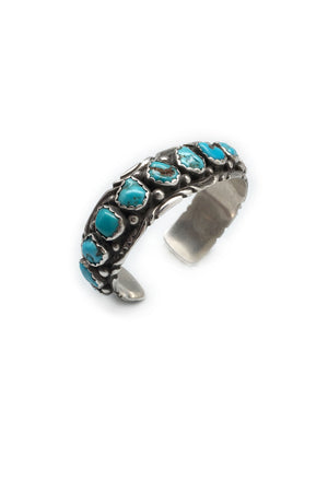 Cuff, Turquoise, Vintage, 2151