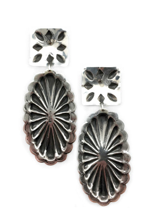 Earrings, Concho, Rita Lee, 287