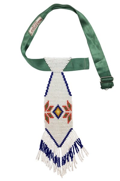 Necktie, Beaded, Thunderbird, 109