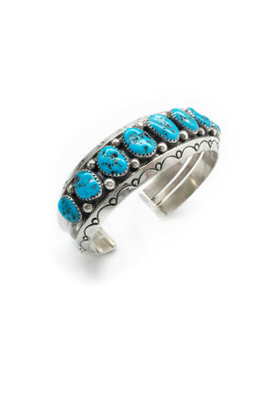 Cuff, Turquoise, Vintage, 2233