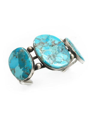 Cuff, Turquoise, Vintage, 2228
