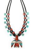 Santo Domingo Thunderbird Depression Necklace 436