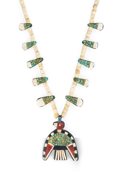 Necklace, Thunderbird Depression, Kewa, Vintage, '30s, 1042