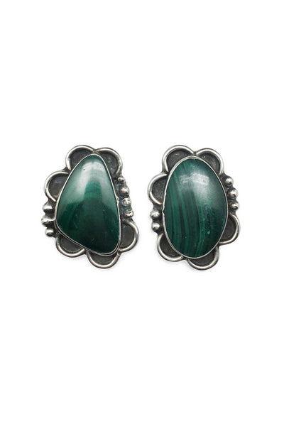 Miscellaneous, Cuff Links, Malachite, Vintage