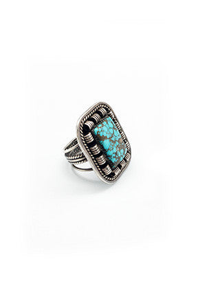Vintage Turquoise Ring - 214