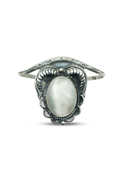 Cuff, Mother of Pearl, Vintage, Abeita