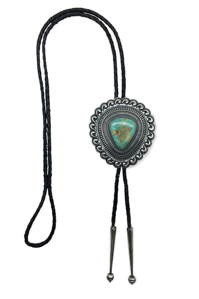 Bolo, Turquoise, Vintage, Concho Style, 721