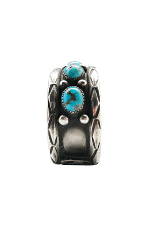 Cuff, Turquoise, Vintage, Navajo, 2211