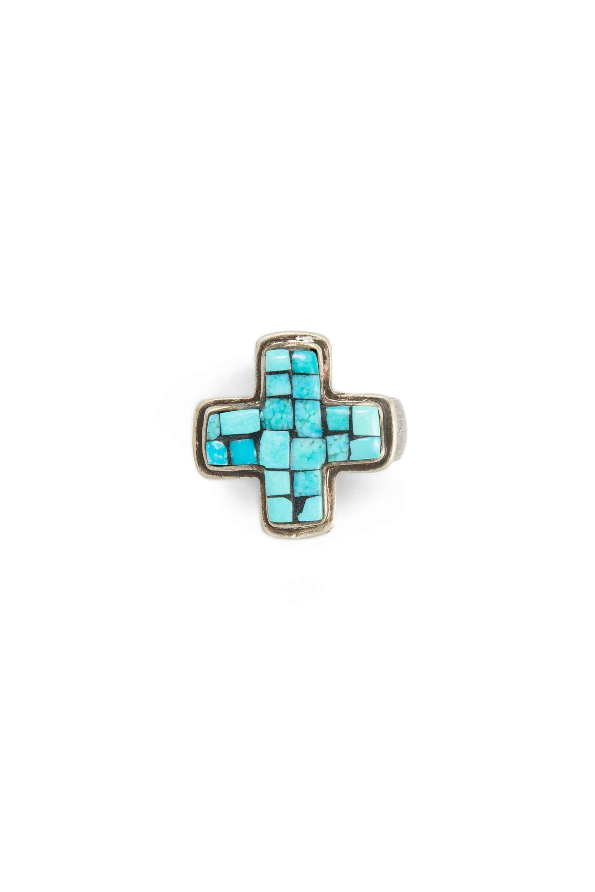 Ring, Conversational, Matrix, Turquoise, Crossroads, 511