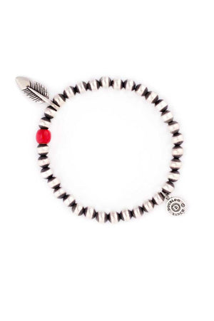Bracelet, Stretch, Red Bird
