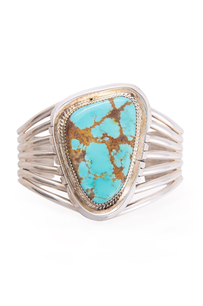 Cuff, Turquoise, Single Stone, 2499