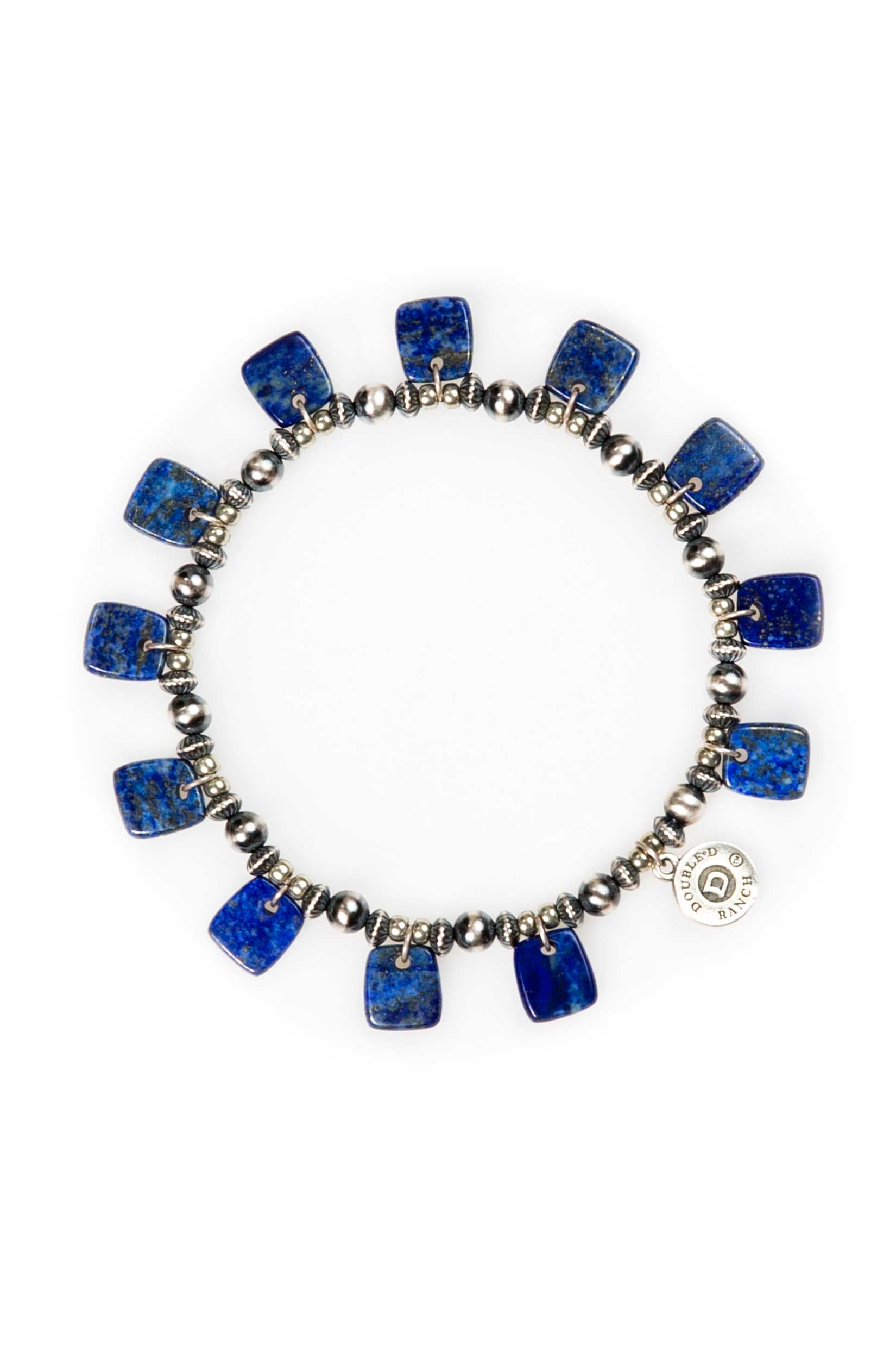 Bracelet, Stretch, Neo Nomad with Lapis