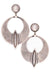 Earrings, Hoop, Sterling Silver, Flat Mountain, 182
